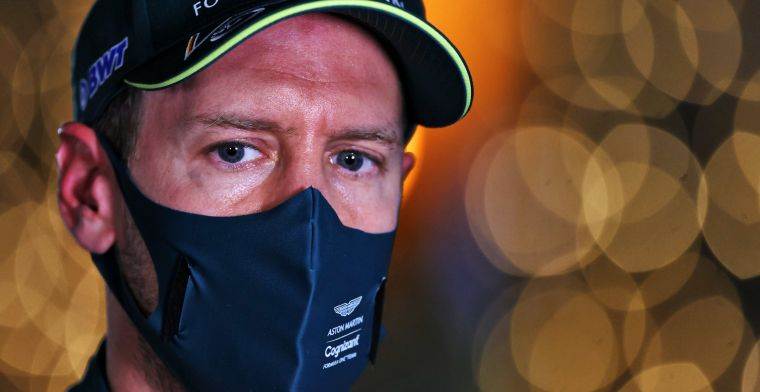 Zorgen om Vettel: ''Het is verschrikkelijk om te zien''