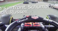Afbeelding: De inhaalrace van Sergio Perez tijdens de GP van Bahrein