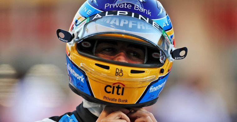 Alonso kijkt naar verleden in F1: 'Hopelijk kan ik dat dit jaar weer presteren'