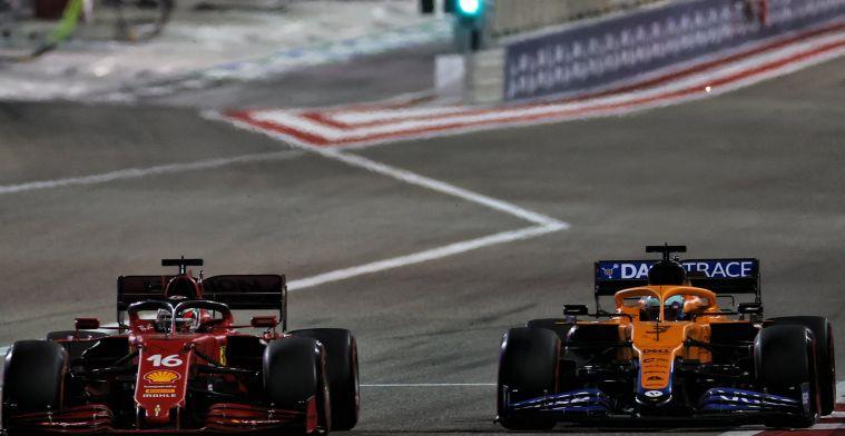 Nieuw hoofdstuk wordt toegevoegd aan de rivaliteit tussen Ferrari en McLaren