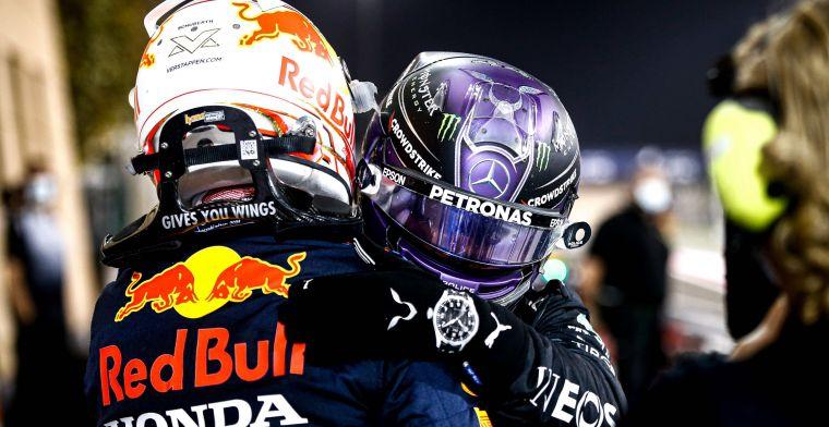 Salariscap heeft grote gevolgen voor Hamilton en Verstappen