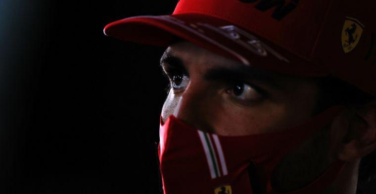 """Sainz ziet verbetering: Voorheen was het makkelijk om Ferrari te passeren"""""""