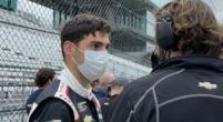 Afbeelding: Van Kalmthout denkt alleen aan eerste race: 'Gebroken vinger stelt niet veel voor'