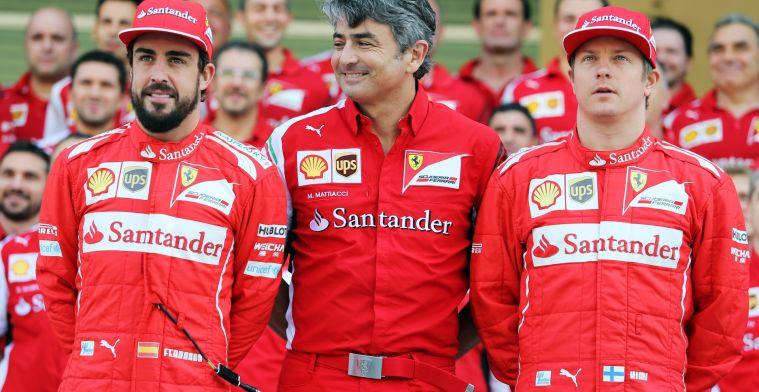 'Former Ferrari teamboss Mattiacci returns to Formula 1'