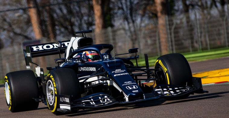 F1 Social Stint   Beautiful images from the Imola circuit during AlphaTauri test