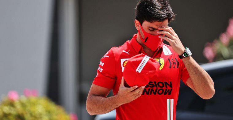 Rob Smedley: Sainz doesn't make big mistake like Massa at Ferrari
