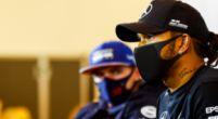 Afbeelding: Hamilton ziet geen probleem in overschrijden track limits: 'Won er geen tijd mee'