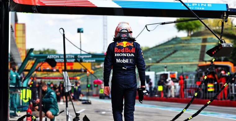 Verstappen: It wasn't the easiest to get the car back to the pits