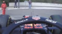 Image: This is how the RB16B returned to the Red Bull garage via the local access roads