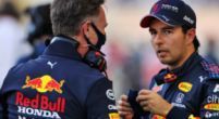 """Afbeelding: Horner over crash Perez: """"Ik heb het ook van de coureur gehoord"""""""