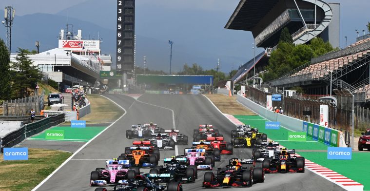 Bad luck for the public, organizers turn away spectators at Spanish Grand Prix