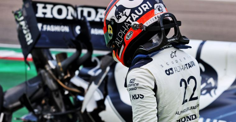 Tsunoda gets lucky with stewards' ruling in Imola