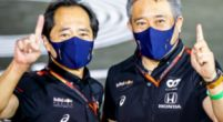 Image: Honda happy with both Red Bull drivers: 'Although Max didn't do a perfect lap'