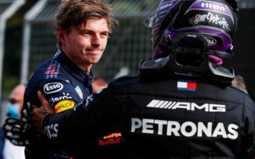 Verstappen en Hamilton steggelen over touché: