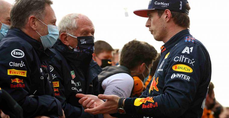 Horner: 'Mercedes had vandaag misschien wel snellere auto dan Red Bull'