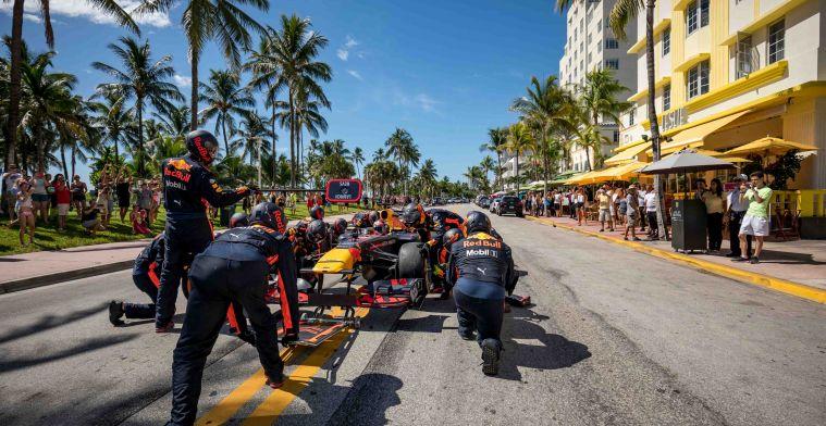 Verstappen en Perez kijken uit naar Miami: 'Eigenlijk de perfecte combinatie'