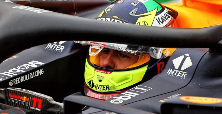 Perez gaat diep door het stof voor Red Bull Racing: Ik heb het verknald