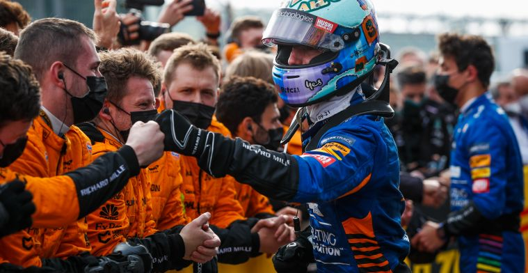 Ricciardo: 'That was certainly where I have to swallow my pride'