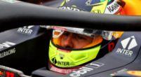 """Afbeelding: Perez gaat diep door het stof voor Red Bull Racing: """"Ik heb het verknald"""""""
