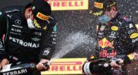 """Afbeelding: Hamilton over inhaalactie Verstappen: """"Beetje krap, maar het is wat het is"""""""