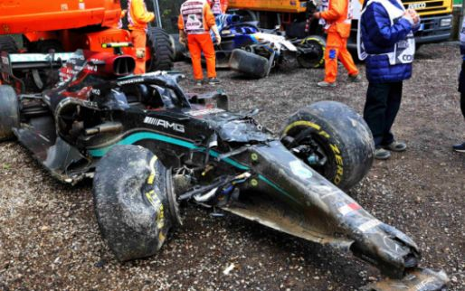 Mercedes may not be able to make any developments due to Bottas' crash
