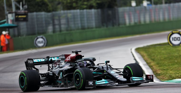 Mercedes takes first fastest pit stop in two years at Imola