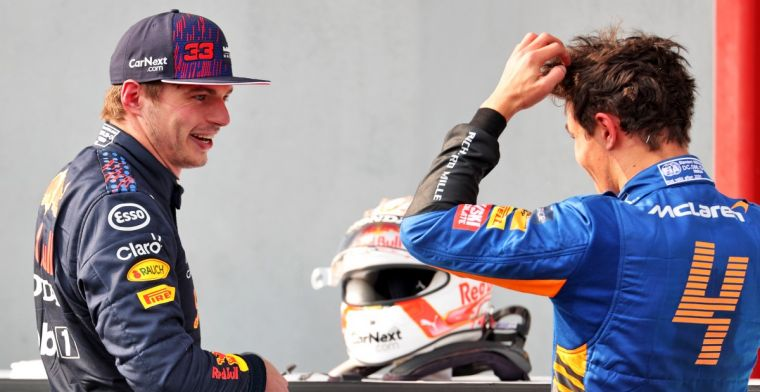 Norris wouldn't have hesitated with 'funny' Verstappen spin