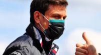 Afbeelding: Wolff ondanks snelle tijden Hamilton: 'Kunnen niet tippen aan Red Bull-Honda'