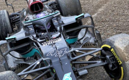 Verstappen grote zorg voor Hamilton: 'Normaal neemt hij die risico's niet'