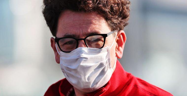 Frustratie van Binotto toont aan dat Ferrari juiste kant op gaat