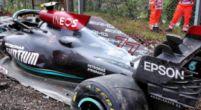 Afbeelding: Spanningen tussen Russell en Mercedes na crash? 'Deze dingen gebeuren'