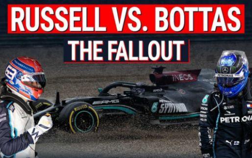 Bottas vs Russell: De crash en diens gevolgen