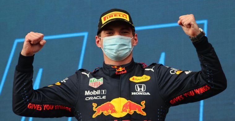Verstappen in de voetsporen van Ayrton Senna met overwinning op Imola