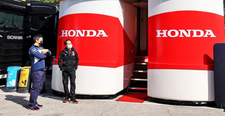 Honda feared 'meaningless' second place in Imola