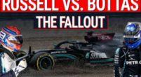 Afbeelding: Bottas vs Russell: De crash en diens gevolgen