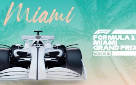 Formule 1 toont eerste beelden van het circuit voor de Grand Prix in Miami