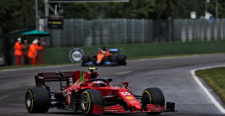 Sainz klip-en-klaar: Ik heb mijn mening al aan de FIA gegeven