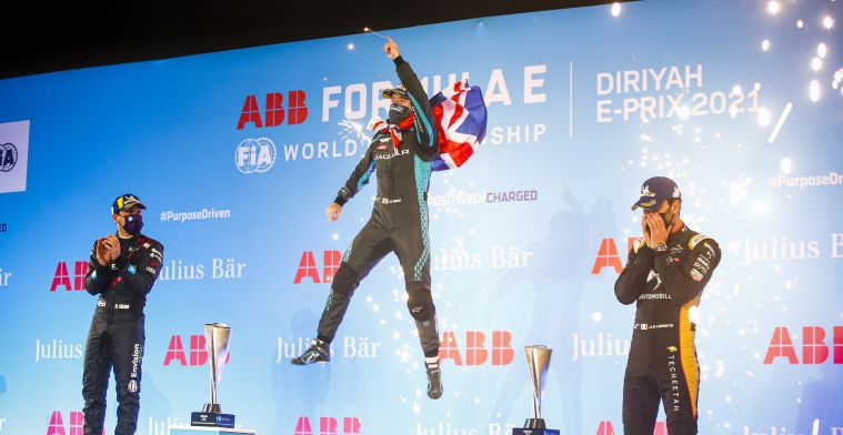 Who are the seven British drivers competing in Formula E this season?