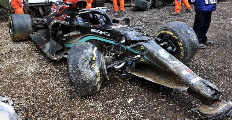 Mercedes weet na inspectie wrak Bottas waar het aan toe is in Portimao