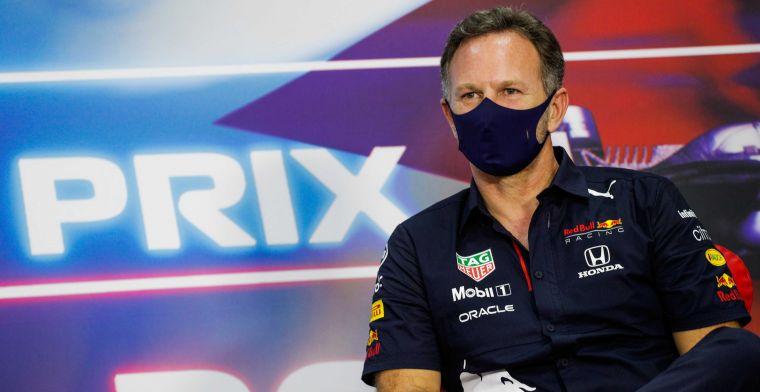 Horner trots op nieuwe stap van Red Bull: 'Hij is een bewezen winnaar'