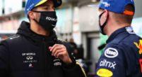 Afbeelding: Ricciardo laat Norris links liggen: 'De betere racer? Ik moet Max zeggen'