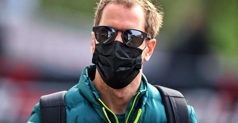 Vettel zelfs onder druk bij Aston Martin: 'Stroll is nu sneller'