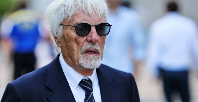 Ecclestone opgelucht: 'Dat zou echt tegen het DNA van de Formule 1 zijn ingegaan'