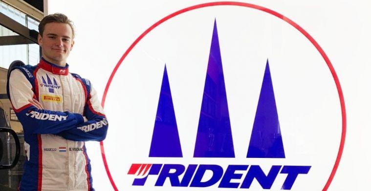 OFFICIEEL: Viscaal mag het hele Formule 2-seizoen uitkomen voor Trident