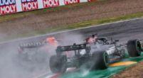 Afbeelding: Hamilton en Verstappen verwikkeld in hevige strijd: 'Die gaan elkaar nog raken'