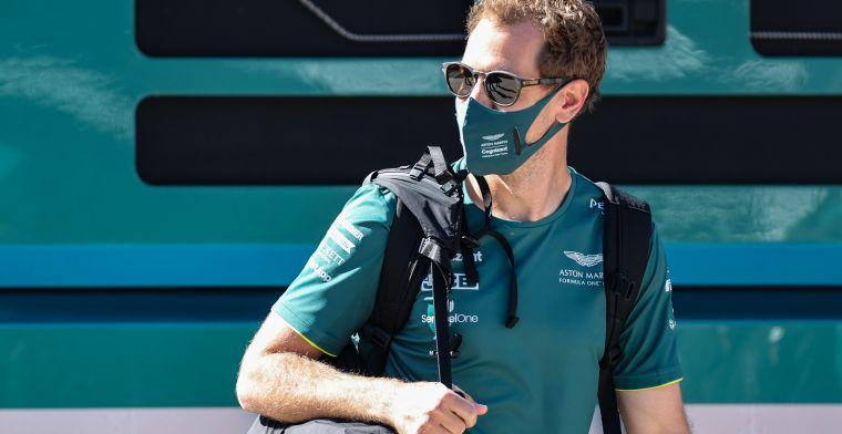 Vettel: 'I did not feel comfortable in the short run'