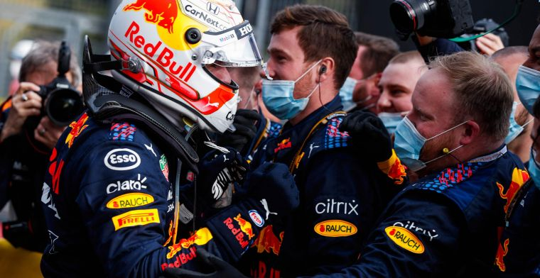 Verstappen doesn't want to put extra pressure on his team: ''Of course I'm not stupid''