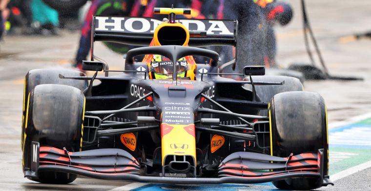 Nieuwe onderdelen gespot op de RB16B van Verstappen en Perez in Portugal