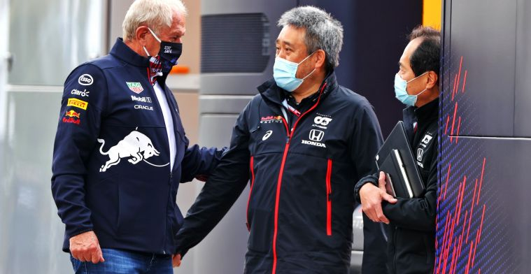 Honda chief executive Tanabe: 'Purely the work of Red Bull'