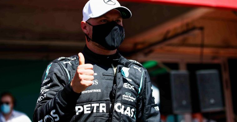 Bottas reacts to P3 in Portimao: It was tricky today